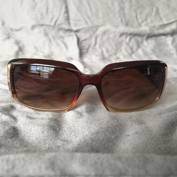 2ba60fd1c532f0 Fossil Accessories - Fossil Sunglasses w Gold Accents - Bronze Color